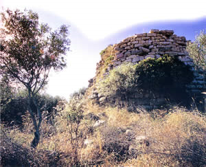 Nuraghe nel territorio di Senis